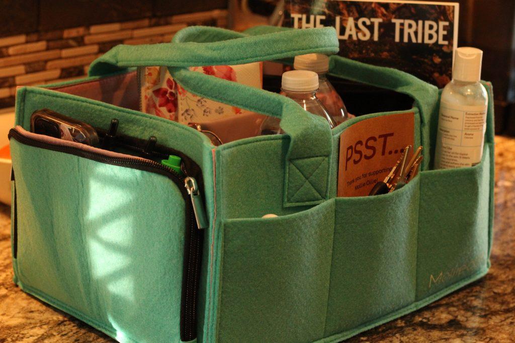 Organizational Caddy for Moms Mollie Ollie organizational caddy