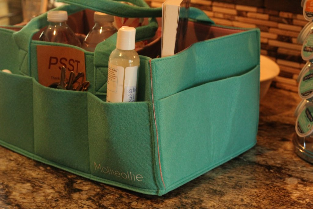 Organizational Caddy for Moms mom hack for sports practice